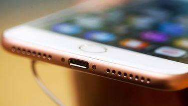 iPhone onderkant