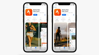 Apps verschillende pagina's