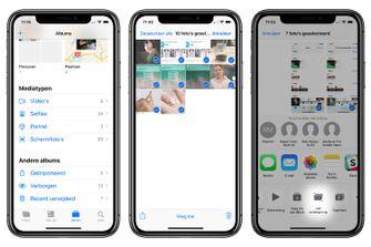 foto's verbergen op iOS