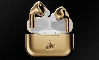 gouden AirPods Pro