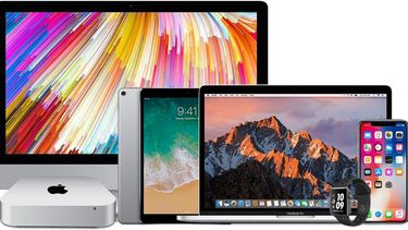 apple product lineup 2018