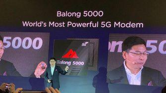 Huawei 5G Balong 5000 Apple iPhone