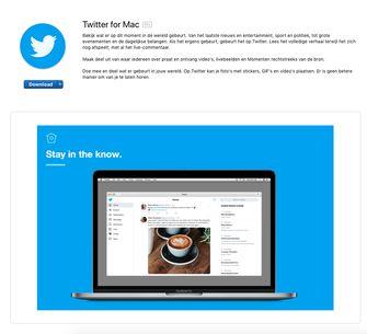 Twitter MacOS Catalina app