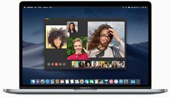 macOS Mojave 10.14.1 groep facetime