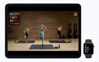 Apple Fitness+ HITT training