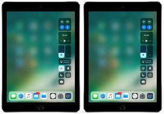 iPad schermrotatie