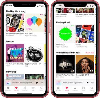 Apple Music voor jou nieuw