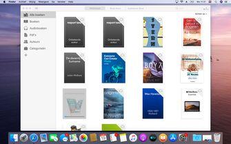 macOS Catalina iTunes boeken