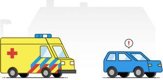 Flitsmeister-ambulance