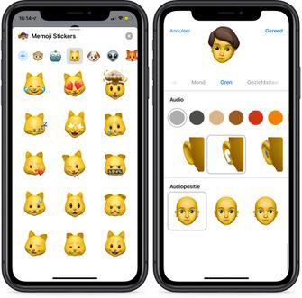 iOS 13 berichten-app memoji animoji 001