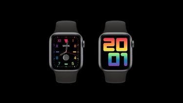 Apple Pride Apple Watch wijzerplaat