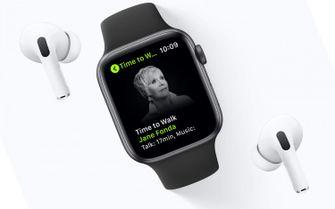 Apple Fitness+ - walking sessions met Jane Fonda