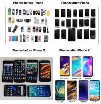 iPhone en concurrentie