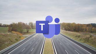 Microsoft Teams snelweg