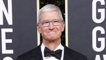 Tim Cook Golden Globe Awards Apple