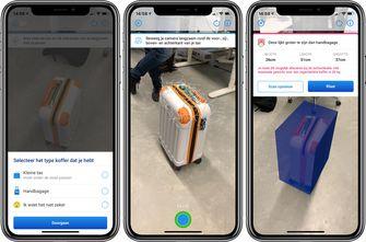 EasyJet Ryanair bagage scannen iPhone