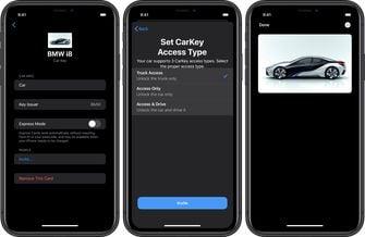 Apple CarKey BMW i8 001