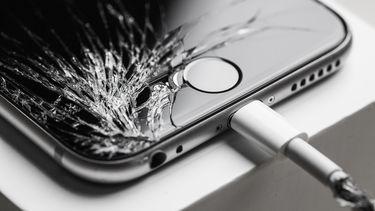 iphone gebarsten scherm reparatie
