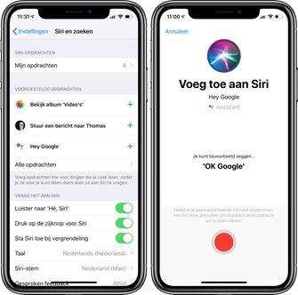 Google Assisant Siri Shortcuts 001