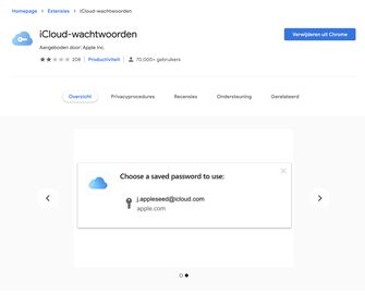 iCloud-wachtwoorden