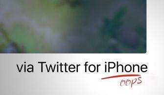 Huawei twitter voor iPhone