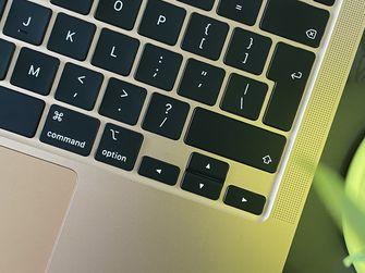 MacBook Air 2020 review - toetsenbord
