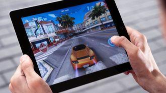 Game op de iPad