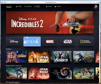 Disney+ in de browser