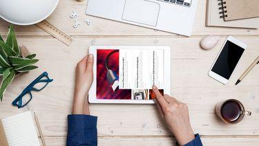 iPad, schermrotatie