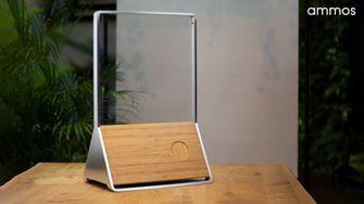 Glazen speaker