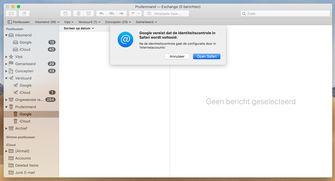 macOS Mojave 10.4.4 gmail