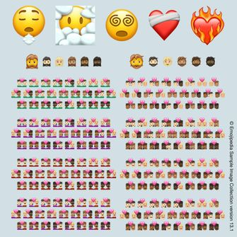 Emoji iPhone 2021
