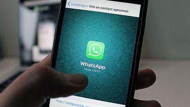 WhatsApp logo iPhone Nederland 16x9