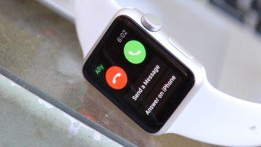 Apple Watch 3 niet bellen