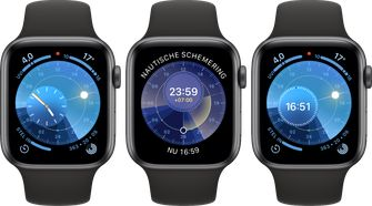 Apple Watch watchOS 6 zonnestand wijzerplaat 001