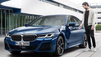 BMW Digital Key lifestyle shot