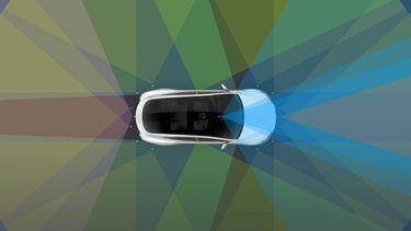 Tesla sensoren 16x9