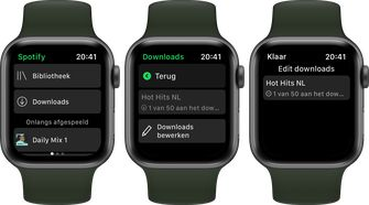 Spotify Apple Watch download 002
