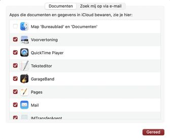 iCloud Mac uitschakelen