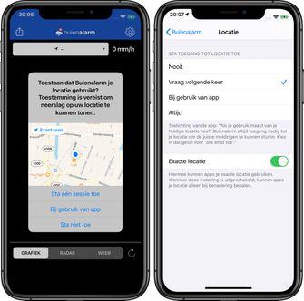 iOS 14 locatie bij benadering privacy 002