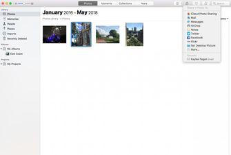Apple foto's delen