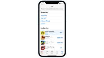 Advertentie App Store