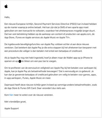 Mail van Apple
