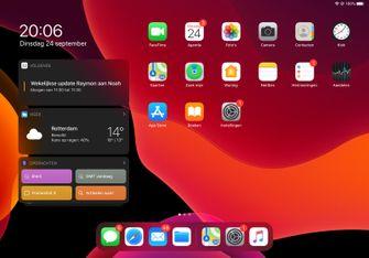 iPadOS 13 startscherm 001