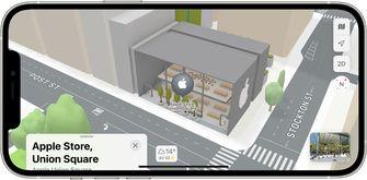 Apple Maps nieuwe kaarten iOS 15